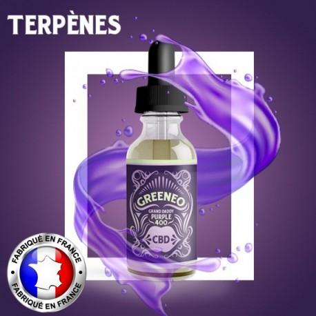 Greeneo E-liquide CBD Grand Daddy Purple - 10ml