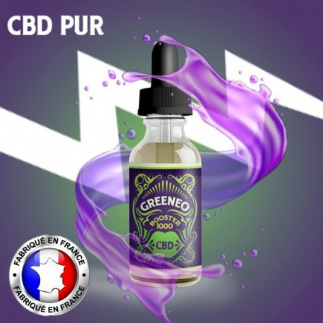 Greeneo Booster de CBD (Cannabidiol) - 10ml