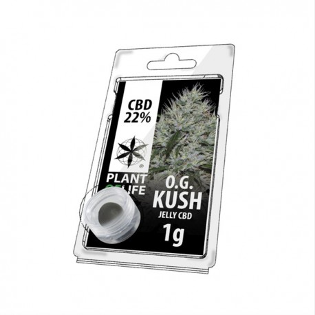 Jelly CBD OG KUSH 22% 1G Plant of Life