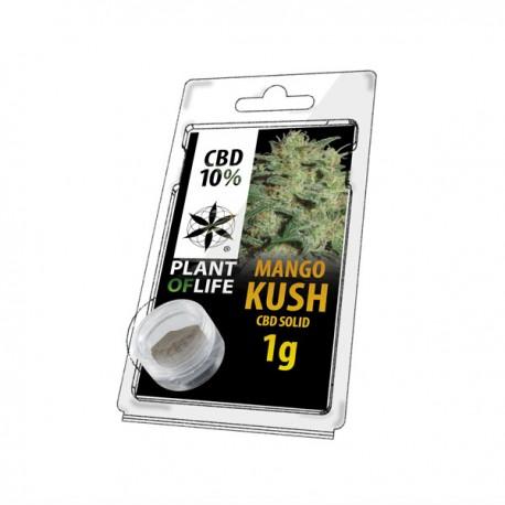 Résine CBD MANGO KUSH 10% 1G Plant of Life