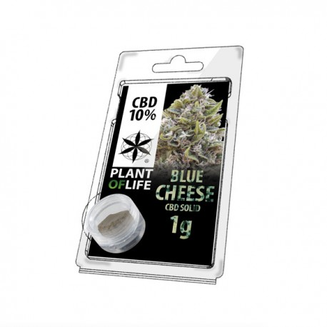 Résine CBD BLUE CHEESE 10% 1G Plant of Life
