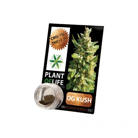Résine CBD OG KUSH 3,8% 1G Plant of Life