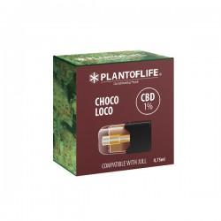 Cartouche Pod 1% CBD CHOCOLOCO - 0,75ml