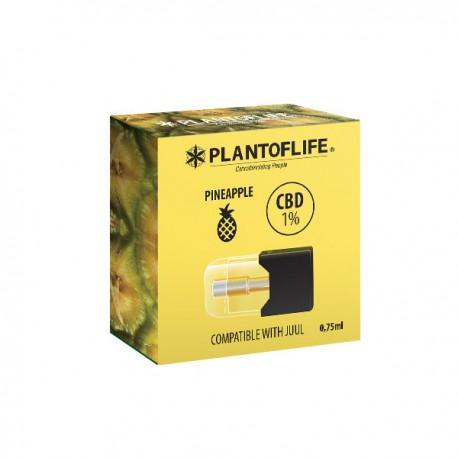 Cartouche Pod 1% CBD PINEAPPLE - 0,75ml