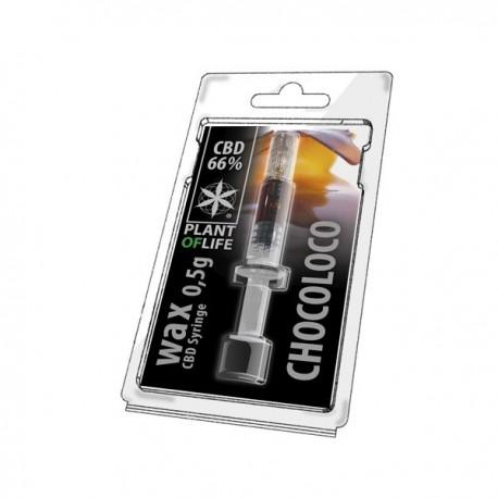 Wax CBD Chocoloco 66% 0,5ML Plant of Life