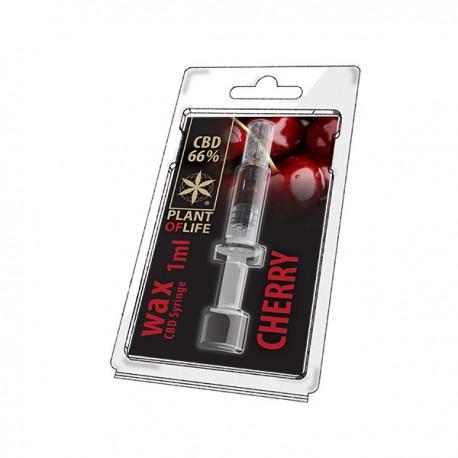 CBD Wax Cerise 66% 1ML Plant of Life
